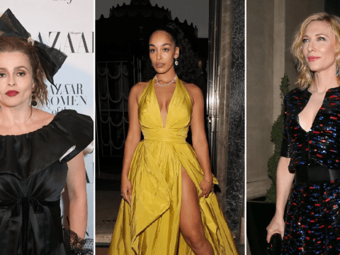 Helena Bonham Carter and Jorja Smith are a breath of fresh air as they attend Harper Bazaar's Women of the Year Awards