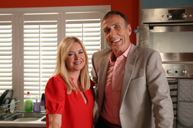Edward Hutchinson and Diane in Hollyoaks