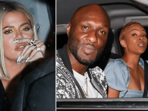 Khloe Kardashian winds up at the same club as ex-husband Lamar Odom and his new girlfriend Sabrina Parr