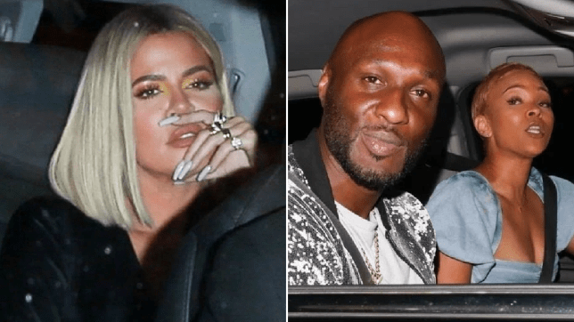 Khloe Kardashian and Lamar Odom and Sabrina Parr