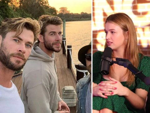 Liam Hemsworth's girlfriend Maddison Brown jokes she would 'f**k both Hemsworth brothers at same time' in unearthed clip