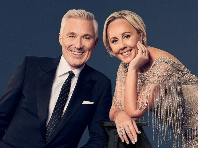 Martin Kemp and Shirlie Holliman