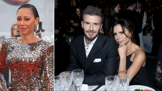 Mel B reveals Victoria Beckham 'begged' fellow Spice Girls not to give David a hard time when they first started dating