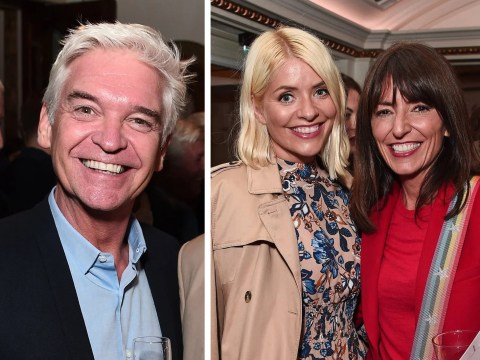 Holly Willoughby and Philip Schofield party on a school night at the opera
