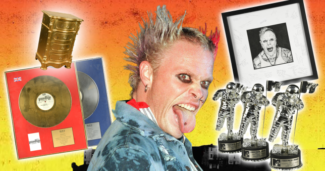 Keith Flint auction