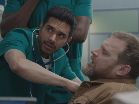 Casualty review with spoilers: Rash throws a punch at Ethan, and Rosa reveals secret heartbreak