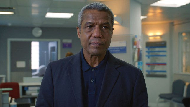 Ric in Holby City