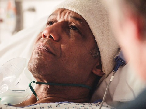 Holby City review with spoilers: Ric fights for his life in dreamlike episode, and Lofty discovers he's going to be a dad