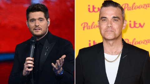 Michael Buble Christmas Special 2019.Robbie Williams Wants To Put A Stop To Michael Buble Owning