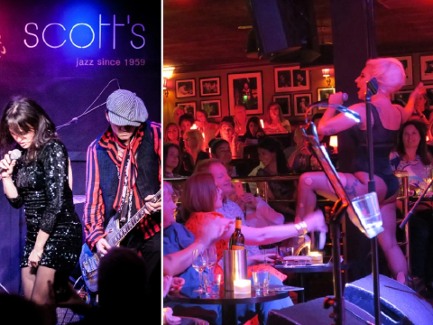 From surprise sets by Lady Gaga and Johnny Depp to amazing celeb parties backstage, Ronnie Scott's celebrates 60 year anniversary