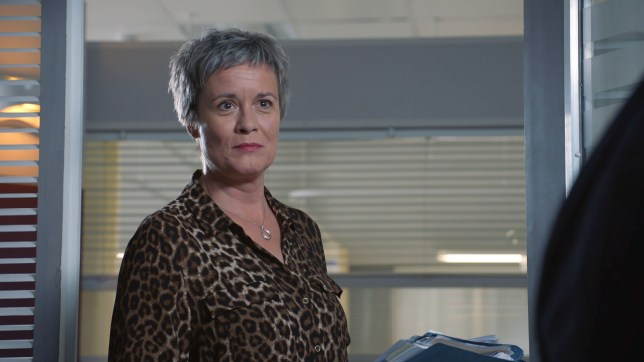 Serena leaves Holby City