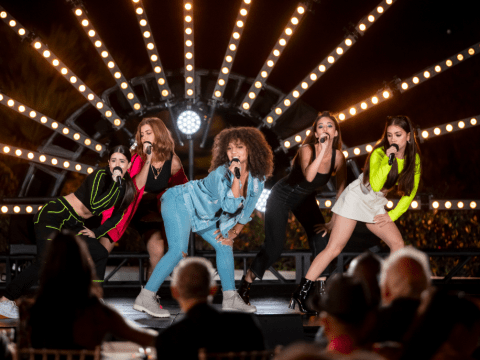 Who are V5 on X Factor: Celebrity?