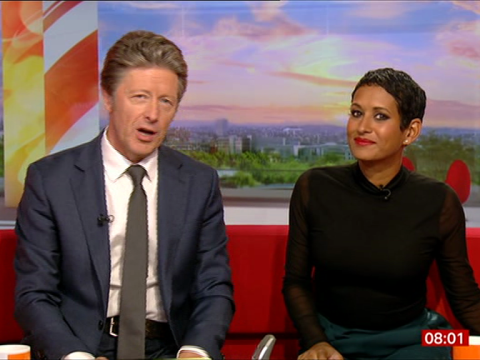 Naga Munchetty returns to BBC Breakfast – but team ignore Trump row complaint against her