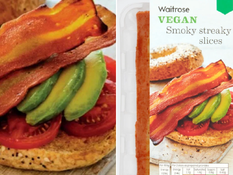 Waitrose adds vegan bacon to its stores for the first time