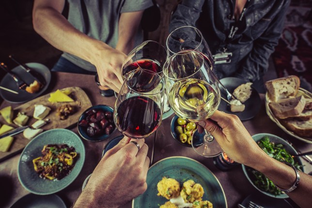 You can swap tins of beans for free wine at this London bar