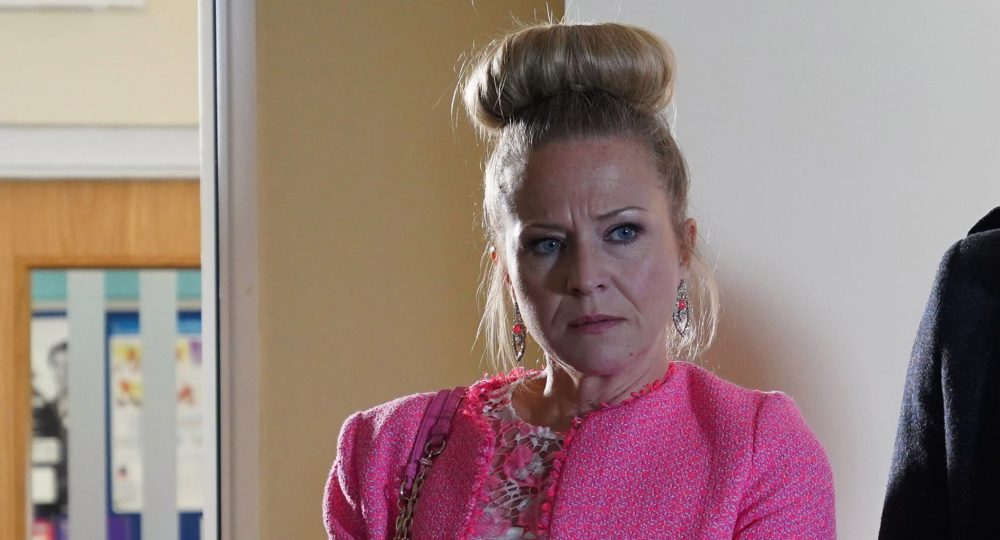 Kellie Bright as Linda Carter in EastEnders