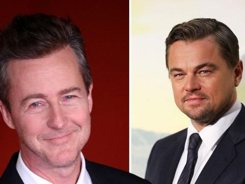 Edward Norton reveals he saved Leonardo DiCaprio's life on scuba diving trip