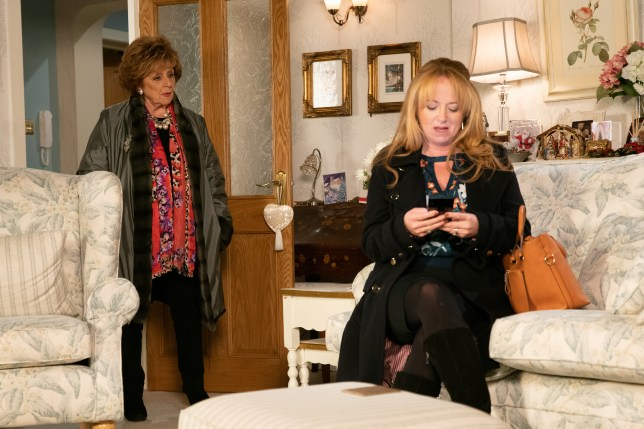 Rita Tanner and Jenny Connor in Coronation Street