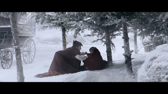 A still from the 2019 Sainsbury's Christmas advert