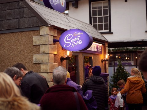 Cadbury's secret Santa postbox is back so you can send chocolate to others for free