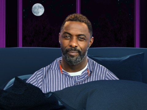 Idris Elba survives on a chronic lack of sleep, admitting to only getting 'four or five hours a night'