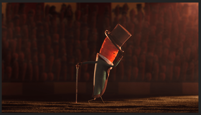 Kevin The Carrot in the Aldi Christmas TV ad 2019