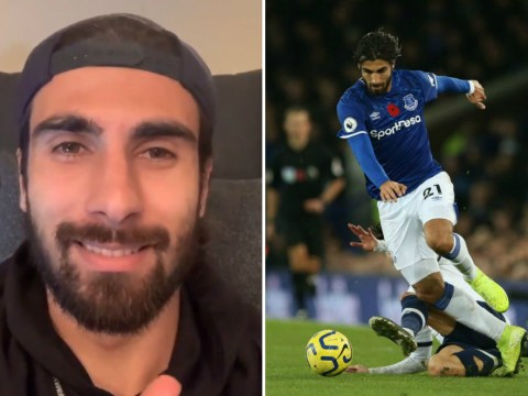 Everton star Andre Gomes thanks fans for support after successful surgery on dislocated fracture