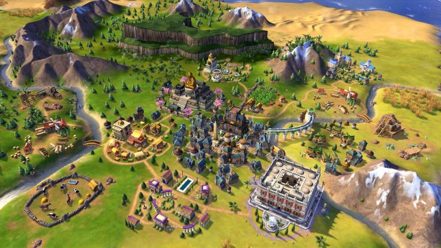 Civilization 6 PS4 screenshot