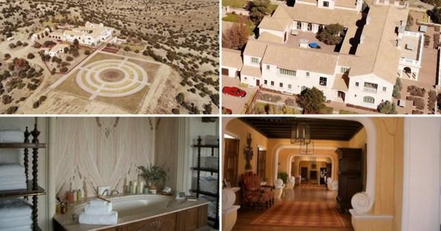Inside Jeffrey Epstein's notorious 'baby-making ranch' in the desert
