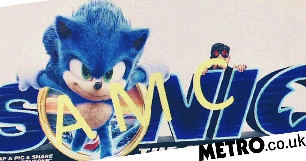 Sonic The Hedgehog S Movie Redesign Leaked Again And It S Looking Good Metro News
