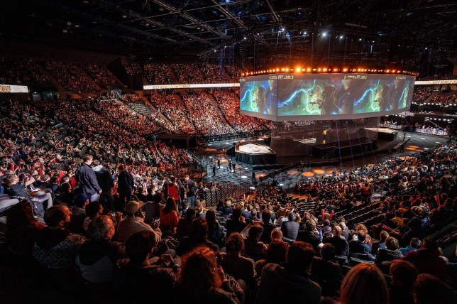 League Of Legends Worlds 2019 tournament