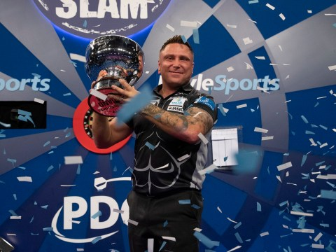 Gerwyn Price sets sights on World Championship after Grand Slam of Darts triumph