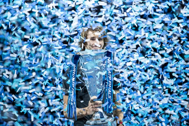 Alexander Zverev is the defending ATP Finals champion