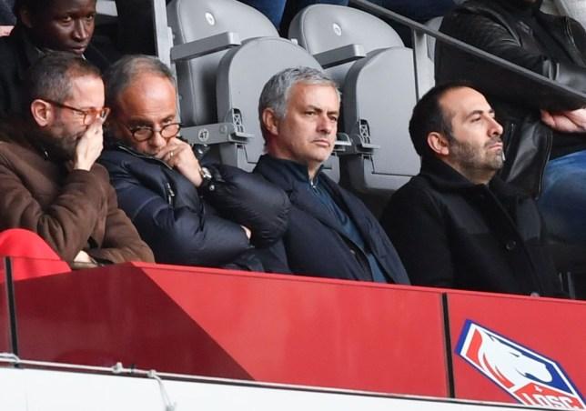 Jose Mourinho and Lille chief Luis Campos