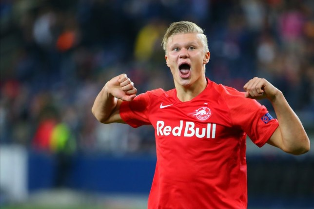 Erling Haaland is on Arsenal's transfer radar