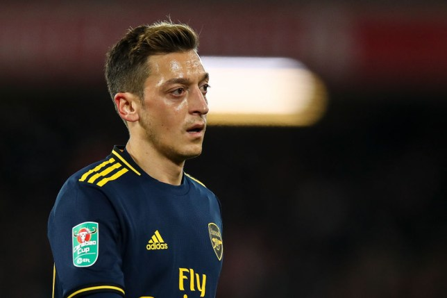 Mesut Ozil made his Arsenal return against Liverpool in midweek