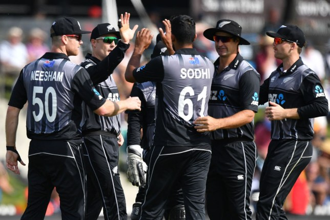 England collapsed to a 14-run defeat in the third T20 match against New Zealand
