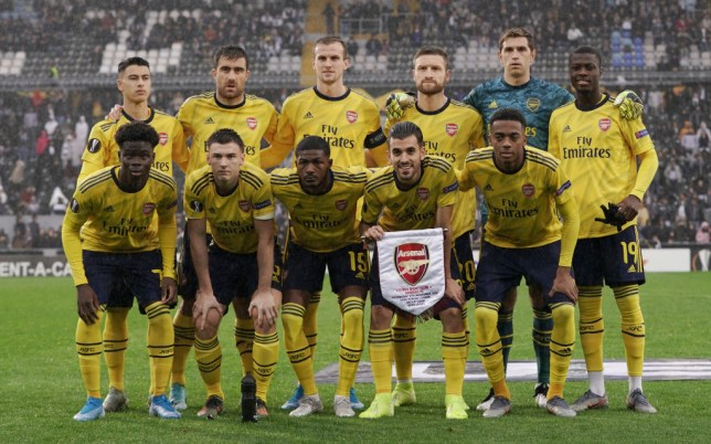 Arsenal's players have been accused of trying to get Unai Emery sacked