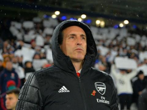 Raul Sanllehi backs Unai Emery to 'turn things around' despite 'disappointing' start to the season