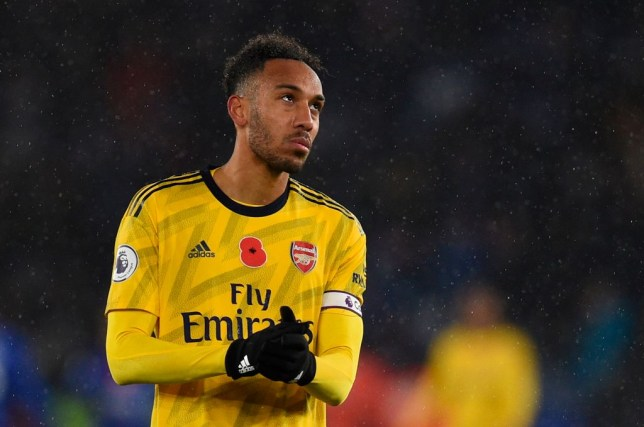 Pierre-Emerick Aubameyang was confirmed as Arsenal's new captain earlier this month by Unai Emery