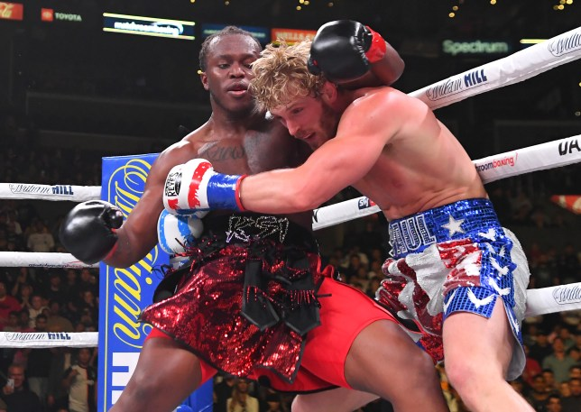 KSI and Logan Paul boxing rematch