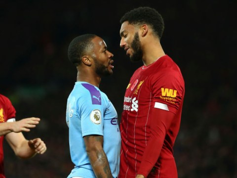 Raheem Sterling dropped by England after clash with Joe Gomez at St George's Park