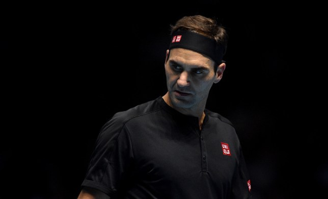 Roger Federer suffered a defeat to Dominic Thiem in his opening ATP Finals match