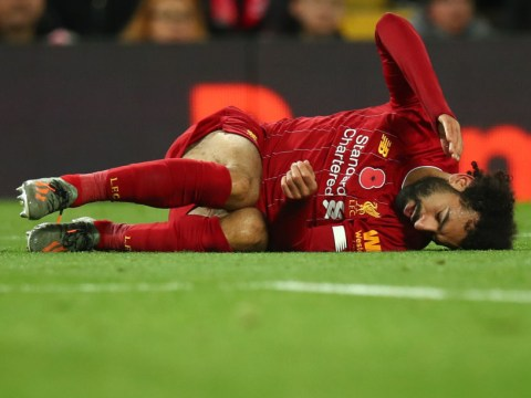 Liverpool's Mohamed Salah out of Egypt games over the international break with ankle injury