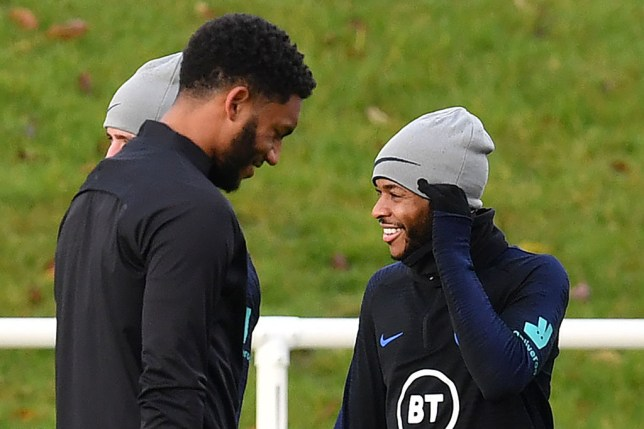 Raheem Sterling apologised to England players in team meeting after Joe Gomez row
