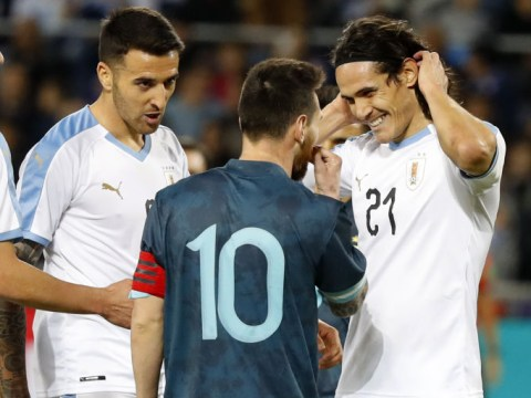 Edinson Cavani speaks out his 'fight offer' to Lionel Messi during heated Argentina vs Uruguay game