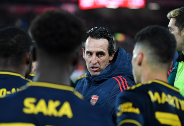 Arsenal players still can't understand Unai Emery and openly mock him