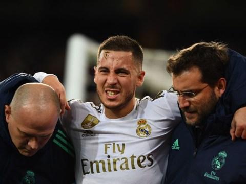 Zinedine Zidane provides Eden Hazard injury update after Real Madrid v PSG draw