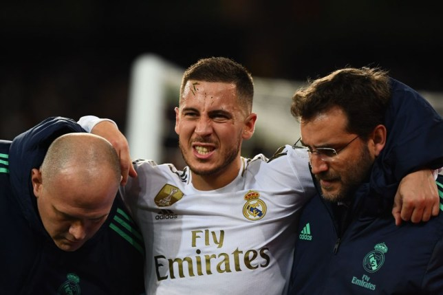 Zinedine Zidane has provided an injury update on Real Madrid star Eden Hazard