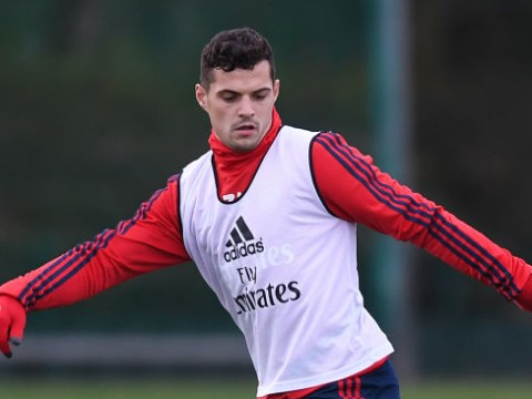 Granit Xhaka sends message to Arsenal fans ahead of Wolves clash